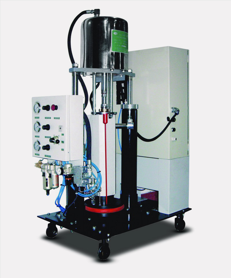 RYT系列热熔胶机为什么不出胶