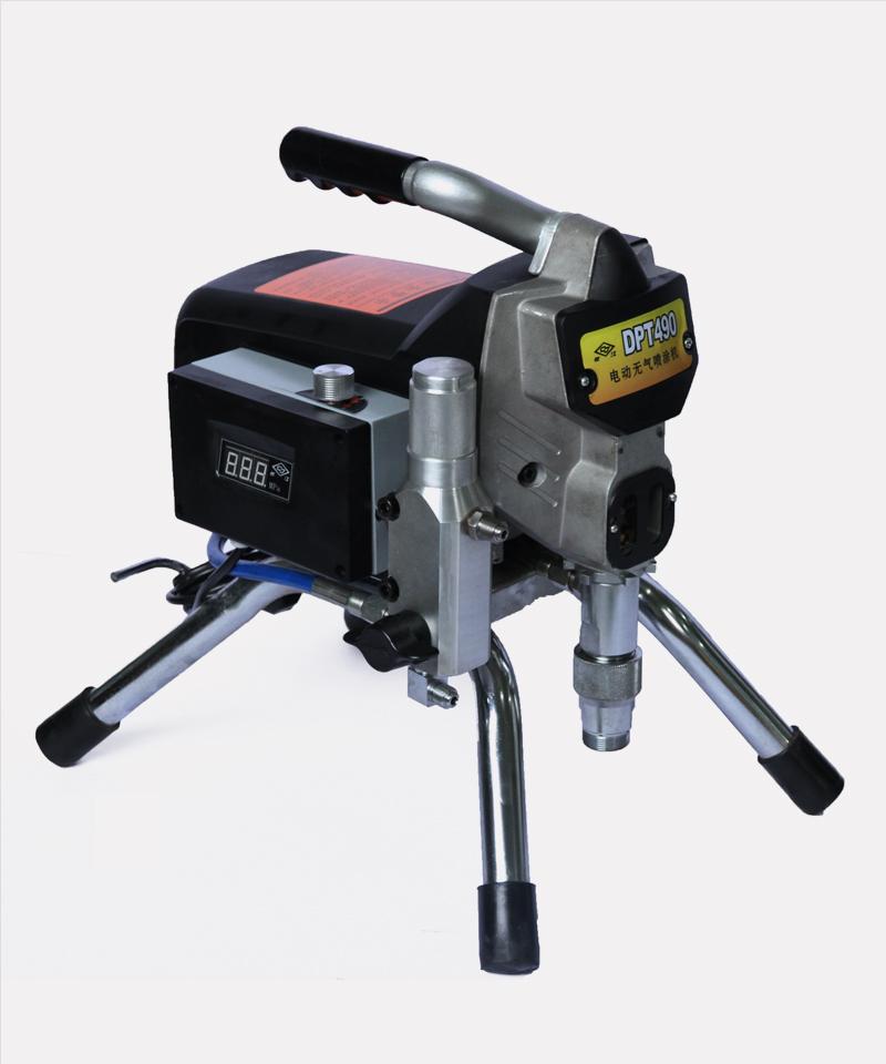 柱塞式电动无气喷涂机的喷涂作业如何实现
